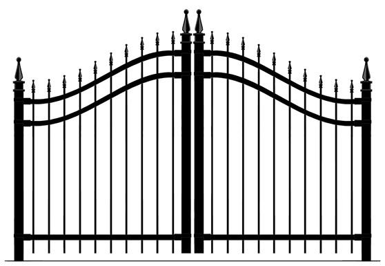portail double